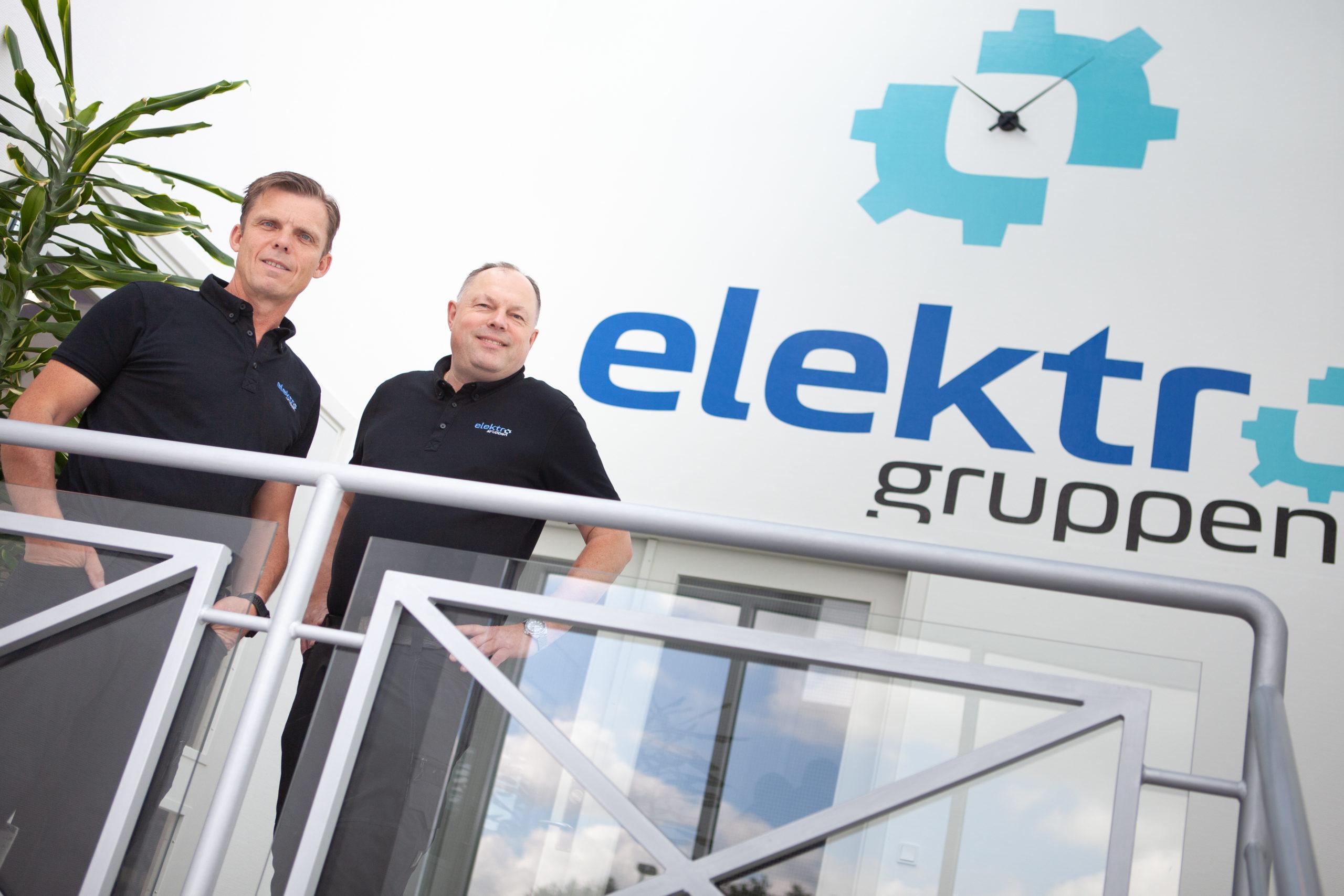 Lars Sanderhoff og Morten Petersen Elektro Gruppen