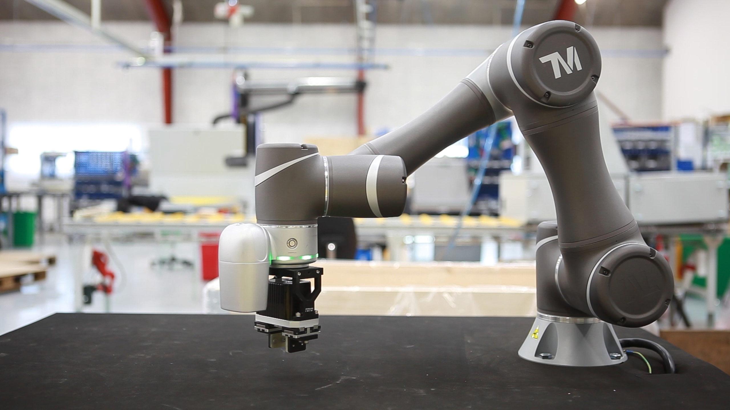 Techman robot hos Elektro Gruppen